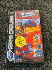 X men Children of The Atom  Sega Saturn boxed  free Post  Marvel Comics