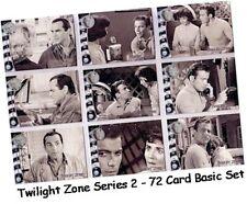 Twilight Zone Serie 2 (Zwei) Die Next Dimension - 72 Karte Basic / Set #73-144
