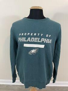 Nike NFL Mens Sweatshirt Large Property Of Philadelphia Eagles Sweater Pullover
