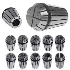 10PCS ER16 Spring Collet Set Kit For CNC Milling Lathe Tool Engraving Machine