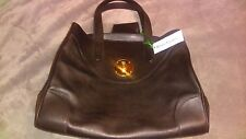 NWT 100% Authentic RALPH LAUREN SOFT RICKY BAG 33 Truffle  (Org price $2,500)
