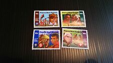 PAPUA NEW GUINEA  1982 SG 426-429 75TH ANNIV OF BOY SCOUTS MNH