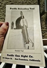 1940's PACIFIC GUN SIGHT CO, San Francisco CA: Vintage Gunsights Reloading Tools