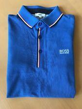 boys Hugo Boss blue long sleeve polo top BNWT