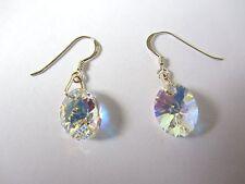 Swarovski Crystal Drop/Dangle Oval Costume Earrings