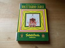 ricettario carli a.pettini fratelli carli 1972