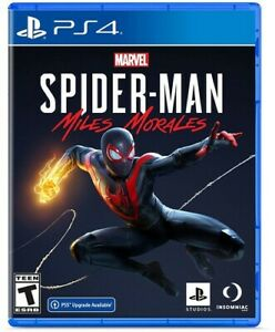Marvel's Spider-Man: Miles Morales - Sony PlayStation 4 (PS5 UPGRADE AVAILABLE)
