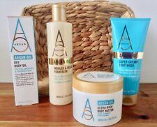 SALE! Argan Deluxe 5 Pce Gift Set Body Butter + Creamy Wash + Oil + Foam Bath