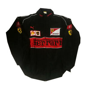 1Ferrari Team jacket black