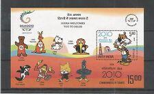INDIA 2008 19TH C/WEALTH GAMES MINISHEET SG,2516 UM/M NH LOT 2927A