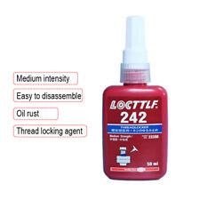 Blue Thread Seal Lock Glue 50ml 242 Thread locker Adhesive Loctite (Red Bottle)