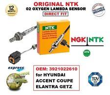 NGK NTK O2 LAMBDA SENSOR OEM: 3921022610 for HYUNDAI ACCENT COUPE ELANTRA GETZ