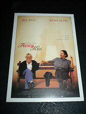 FRENCH KISS, film card [Meg Ryan, Kevin Kline, Jean Reno]
