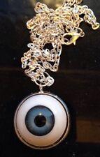 Mad Eye Moody espeluznante extraño Zombie Collar de bolas de ojos, mal de ojo