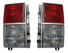 red clear color finish tail lights rear lights for Jeep Cherokee XJ 84-96