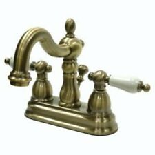 Vintage Brass Bathroom Sink Faucet  New KB1603PL