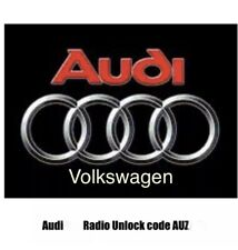 Audi/VW Radio Code Service RNS-E Plus Symphonie Chorus Concert 2 AUZ.......=code