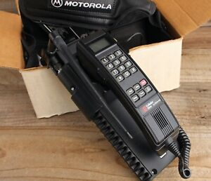 Vintage Motorola Cellular One In Car Cell Phone New Old Stock 1991