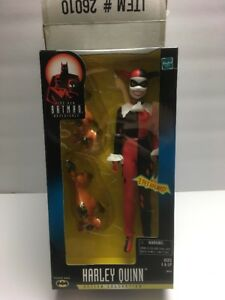 "Harley Quinn 12"" Animated Action Figure 2 Hyenas New Batman Adventures MINT 1998"