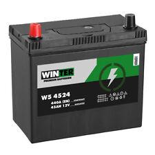 Autobatterie 12V 45Ah 440A/EN Japan Asia + Pluspol links Batterie 54724 45Ah