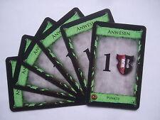 Dominion: 6 x Anwesen - Ersatzkarten, Ersatz, Karten, Spiel des Jahres 2009