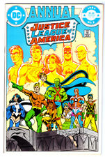 JUSTICE LEAGUE OF AMERICA Annual #2 in NEAR MINT a DC comic 1st VIBE & 1ST STEEL