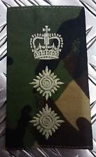 Genuine British Army Woodland Camouflage COLONEL Rank Slide / Epaulette - NEW