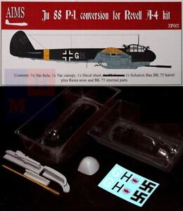 """1/32. Junkers Ju-88P-1 convertions resin set, by """"AIMS Models"""" 32P002"""
