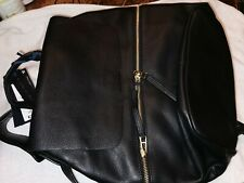 M&S Collection Genuine Leather Black Backpack £79