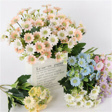 Crafts Artificial Flower Home Decor Fake Flowers Daisy Party Artificial Bouquet