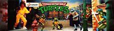 Teenage Mutant Ninja Turtles Arcade Marquee For Reproduction Header/Backlit Sign