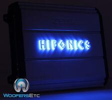 HIFONICS ZXX600.4 ZEUS 600W 4CH 1200W MAX COMPONENT SPEAKERS TWEETERS AMPLIFIER