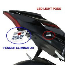15-16 Yamaha R1 Hotbodies Fender Eliminator Kit Tag Bracket & Signal Light Pods