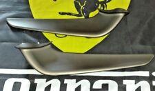 FERRARI 458 ITALIA FRONT LEFT & RIGHT BUMPER SPOILER WING SPLITTER  SET OEM