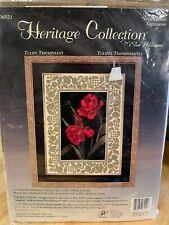 Elsa Williams Heritage Collection Needlepoint Kit ~Tulips~Triumphant