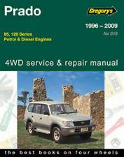Toyota Land Cruiser Prado 1996-2009 95/120 Gregorys Repair Manual Landcruiser