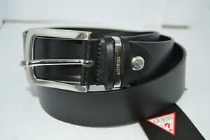Brand new GUESS men's LOGO Leather Belt (size L)