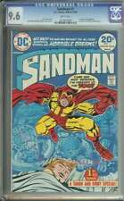 Sandman #1 CGC 9.6 1st App Sandman Simon & Kirby 1974
