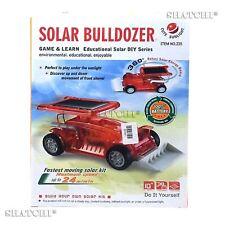Educational TOYS KIT fai da te solare Bulldozer eccezionale per i bambini imparare la scienza regali