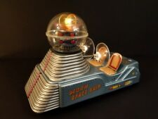 ALL ORIGINAL NOMURA MOON SPACE SHIP 1958 SPACE TOY BATTERY OPERATED JAPAN