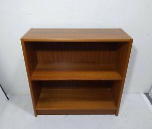 Vintage Mid Century Danish Modern Teak Wood Bookcase Bookshelf Shelf A