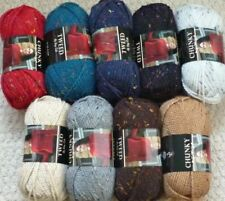 King Cole Wool 12 Ply Weight Crocheting & Knitting Yarns