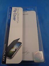 Original Samsung Galaxy S4 Flip Cover White OEM Folio Case