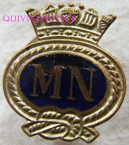 IN7860 - INSIGNE  MERCHANT NAVY, (FNFL) insigne de boutonnière, 22 mm