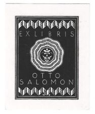 WILLI GEISSLER: Exlibris für Otto Salomon