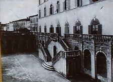 Palazzo Piccolomini del Governo, Siena, Italy, Magic Lantern Glass Slide