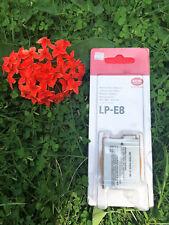 1 PEZZI originale Canon LP-E8 batteria per EOS 550D 600D 650D 700D LPE8 LP E8