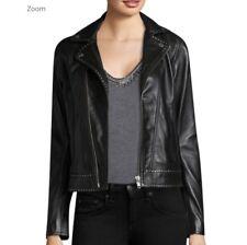 The Kooples Women's Studded Leather Moto Jacket XS