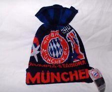 FC Bayern München Wintermütze blau/rot/weiß Olympia-Stadion Neu,Lizenz,RAR