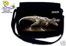 Sac bandoulière moyen modèle dinosaure réf 02 personnalisé avec prénom